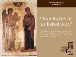 Adviento 2011 - Centro de Espiritualidad Apostólica San Pablo