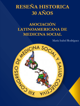power point - Asociación Latinoamericana de Medicina Social