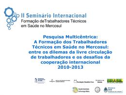 Síntese - Escola Politécnica de Saúde Joaquim Venâncio