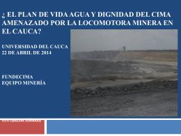 presentacion macizo mineria