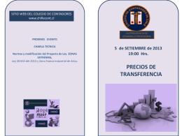 Diapositiva 1 - Colegio de Contadores de Chile