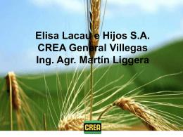 ELISA LACAU E HIJOS S.A. Reunión CREA 23/02/2012
