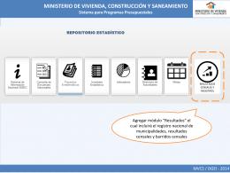 RENAMU - Ministerio de Vivienda, Construcción y Saneamiento