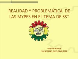 Realidad y problemática SST en MYPES BOLIVIA