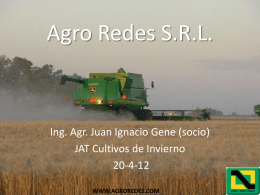 Agro Redes S.R.L.
