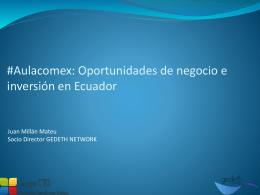 Jornada abierta: Lecciones de Ecuador