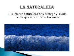 David Correa Tema-La naturaleza