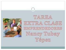 TAREA EMPRENDEDORES NANCY TUBAY YEPEZ