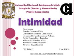 Intimidad 2 - Portal Académico del CCH
