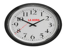 La Hora - sieholmes