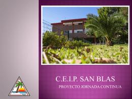 qué es la jornada continua - Colegio San Blas de Alicante