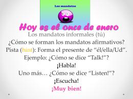 (No) hablar.