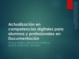PowerPoint de la presentación del proyecto
