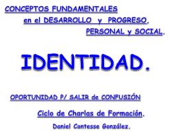 Conceptos fundamentales en el Desarrollo y Progreso Personal y