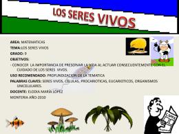 LOS SERES VIVOS
