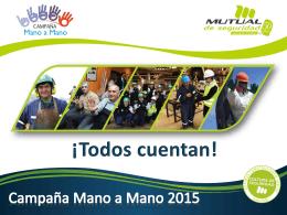 Campaña Mano a Mano 2015