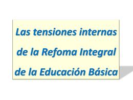 Las tensiones internas de la RIEB, del Dr. Oscar Villarreal, de Inicia