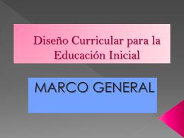 Diseño Curricular para la Educación Inicial - corpo