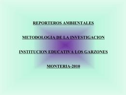REPORTEROS AMBIENTALES