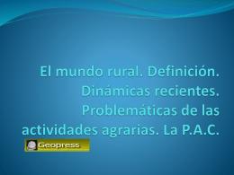 PPT TEMA MUNDO RURAL PARTE 3 ( pptx )
