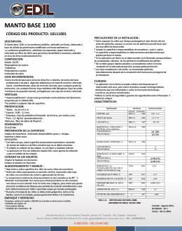 manto base 1100 código del producto: 10111001