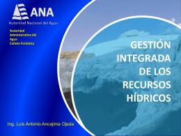 02 gestion integrada de recursos hidricos en la cuenca