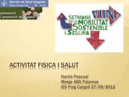 ACTIVITAT FISICA I SALUT