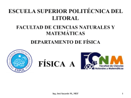 01CinemáticaV1.0 - Blog de ESPOL - Escuela Superior Politécnica