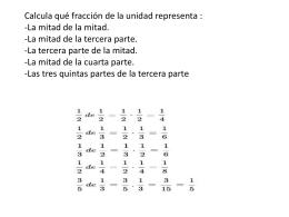 Aún más problemas con fracciones. Estos con solución-3