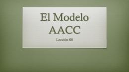 El Modelo AACC
