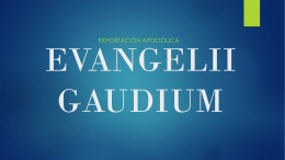 Evangelii_01 - Desde el Corazón