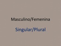 Masculino/Femenina