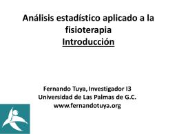 N - Dr. Fernando Tuya