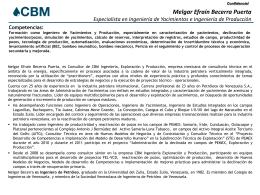 CV Melgar Becerra
