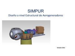 Ejemplo: Estructura de aerogenerador