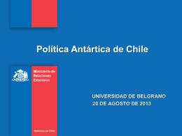 Presentación de Andrea Concha Herrera