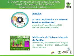 campaña de gestión ambiental icbf