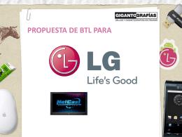 ver presentacion estratégia de LG Netcast TV