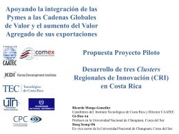 Final Reporting Workshop_Ricardo Monge