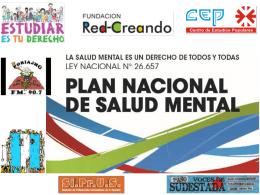 salud Mental - Fundación Red Creando