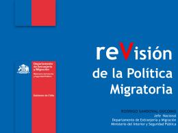 reVisión de la Política Migratoria RODRIGO - FLACSO