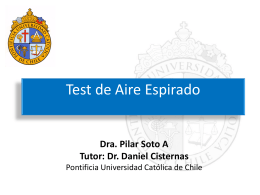 Test de Aire Espirado - Endoscopia UC