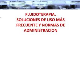 Presentación DE HIDRATACIONES O SOLUCIONES