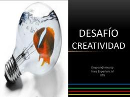 E&I - Desafío 1 Creatividad sec2