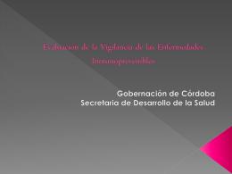 Diapositiva 1 - Secretaría de Salud de Córdoba