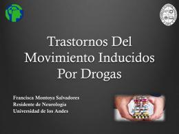 tr del movimiento inducidos por drogas