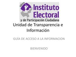Guía de acceso a la información