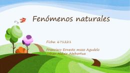 Fenómenos naturales (2286184)
