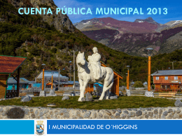 Diapositiva 1 - Municipalidad de Villa O´higgins