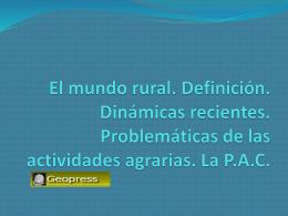 PPT TEMA MUNDO RURAL PARTE 1 ( pptx )